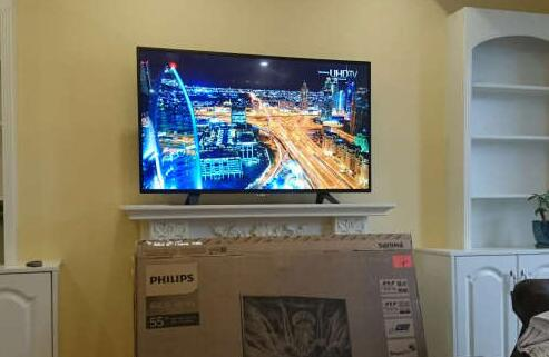 飞利浦55PUF6051/T3的4K电视
