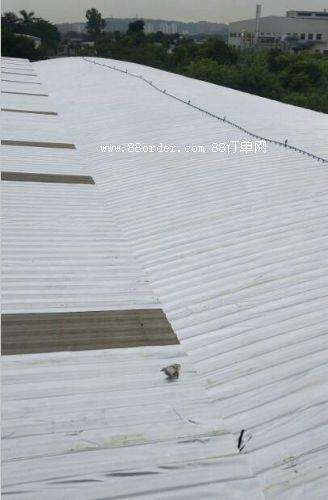 钢结构防水彩瓦屋面防水材料铁皮补漏防水隔热翻新卷材防水毯毡