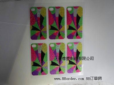 专业生产手机钻石贴纸、压克力贴纸、水钻贴纸。