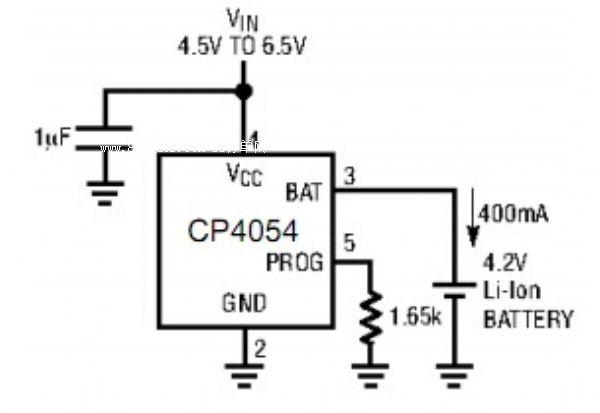 400ma的可编程充电电流芯片cp4054-深圳市芯能伟业