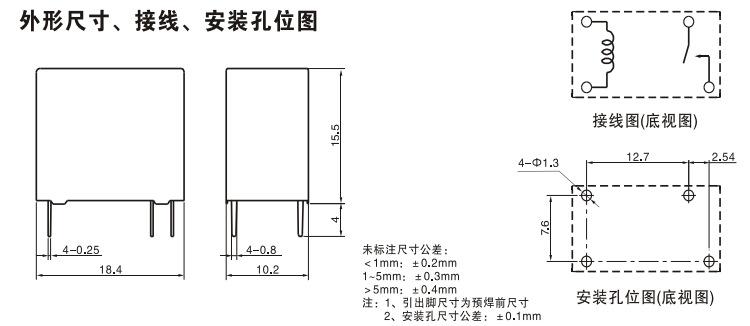 产品类别:电子元器件-继电器-电磁类