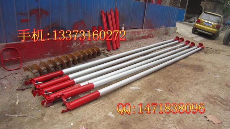三角立杆机_12米杆 金属抱杆 铝合金三角立立杆机 验货付款